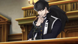Simon Blackquill, the prosecutor. His theme is really good!