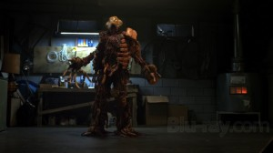 All in all, a monster made of dead meat is one of the more mundane things in this movie