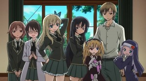 Haganai main cast
