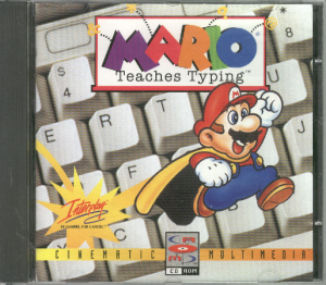 Mario Teaches Typing Cover