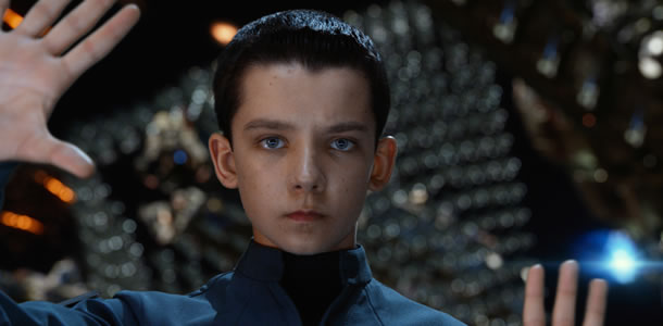 Asa Butterfield: Great actor. Unfortunate name.