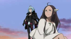Eureka Seven AO - Naru and Truth