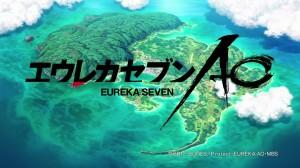 Eureka Seven AO - title card