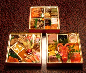 An osechi ryouri spread with all the fixings!