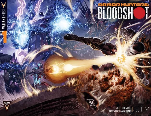 Armor Hunters Bloodshot #1