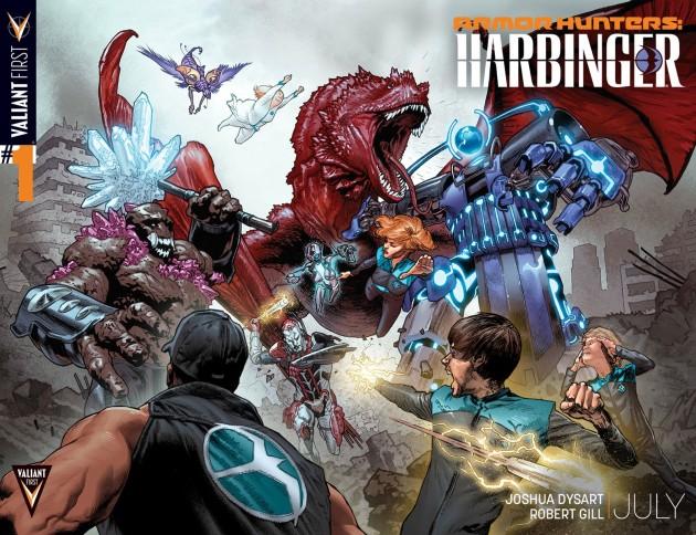 Armor Hunters Harbinger #1