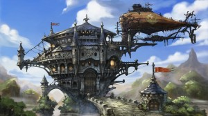 Bravely Default Concept Art