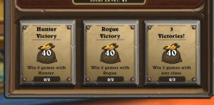 Hearthstone quests