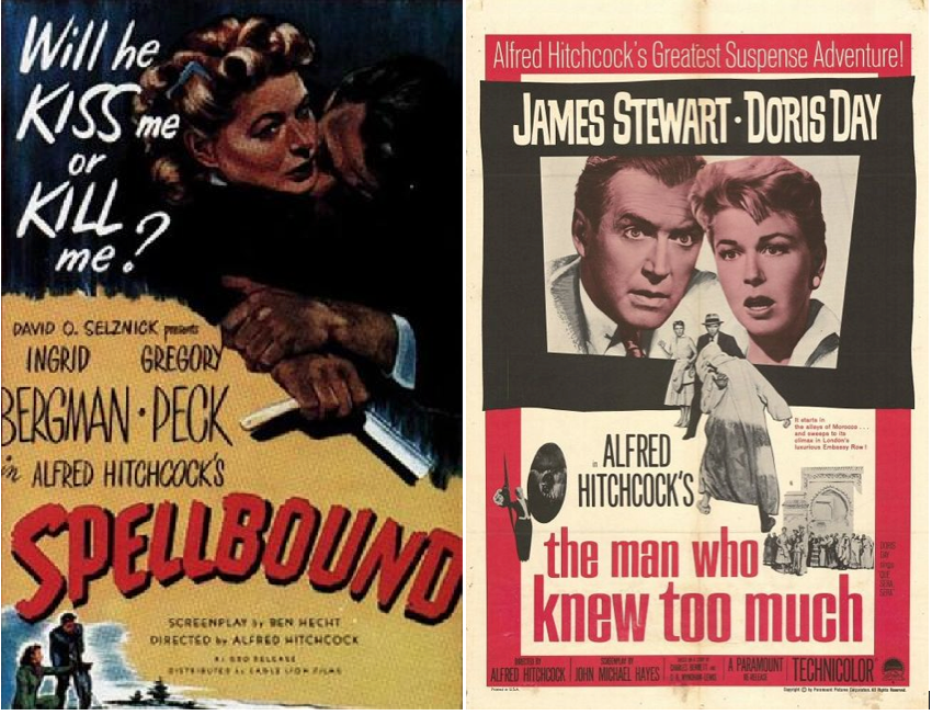 Spellbound:The Man Who Knew Too Much