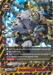 Buddyfight Armorknight Cerberus