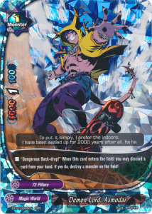 Buddyfight Demon Lord Asmodai