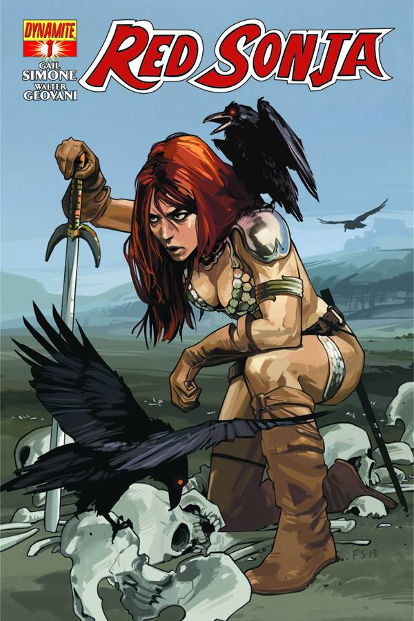 Red Sonja #1 Fiona Staples Variant