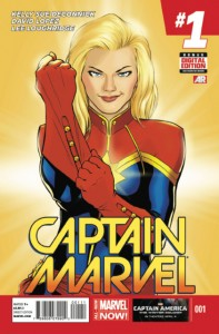 capt. marvel 1 cover