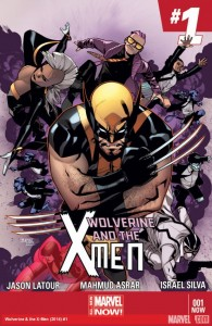 wolverine & the x-men 1 cover