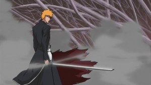 Bleach  Ichigo draws his Bankai