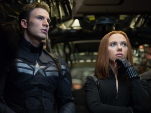 Black Widow pondering why she doesn't have her own movie yet.