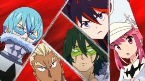 Kill la Kill Ryuuko vs Four Devas