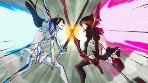 Kill la Kill Ryuuko vs Satsuki