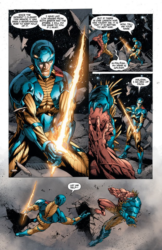 X-O Manowar #24 interior