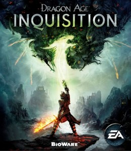The brilliant box art--definitely has classic fantasy book illustration vibes, plus we have a gender neutral main character to focus on; this body type can easily be a male or female Inquisitor so four for you, Bioware