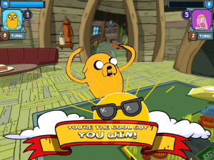 Adventure Time Card Wars Cool Guy