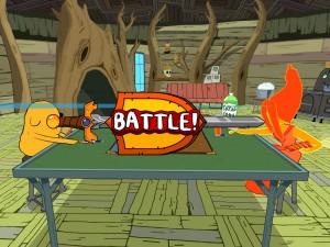 Adventure Time Card Wars Duel Start