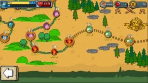 Adventure Time Card Wars map