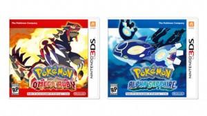 Pokemon Omega Ruby Alpha Sapphire initial box art