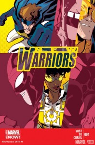 new warriors 4 cover