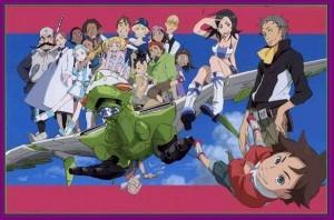 Eureka Seven - Gekkostate crew