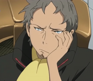 Eureka Seven - Holland is disappointed