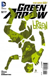 Green Arrow #32 cover