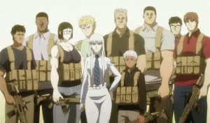 Jormungand Koko and the team