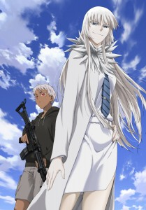 Jormungand title card textless