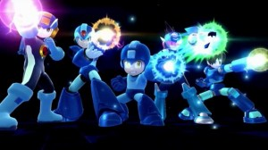 Smash Bros wii u Megaman family attack
