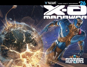 X-O Manowar #26 Cover