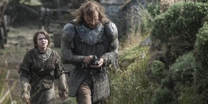 The spinoff sitcom about Arya and the Hound wandering Westeros got...weird.
