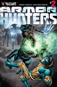 Armor Hunters #2 Cover
