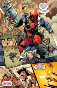 Deadpool vs X-Force 1-1