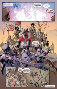 Deadpool vs X-Force 1-4