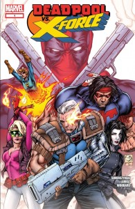 Deadpool vs X-Force 1 cover