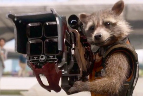 You will root for a gun toting raccoon and like it.