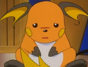 Sad Raichu anime