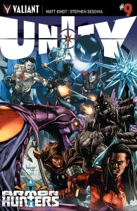 Unity #9 cover