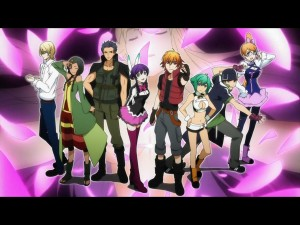 Aquarion Evol Cast