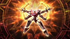 Aquarion Evol  Solar Aquarion Pose