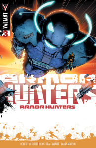 Armor hunters #3 hairsine variant cover