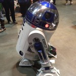 A remote controlled R2D2.