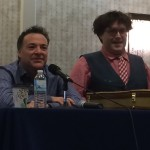 Richard Horvitz and Rikki Simmons