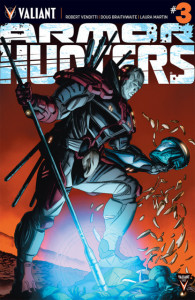armor hunters #3 cover